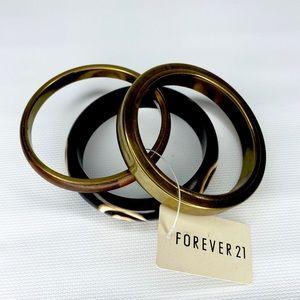 FREE w/Purchase NEW Forever 21 Boho 3 Bangles